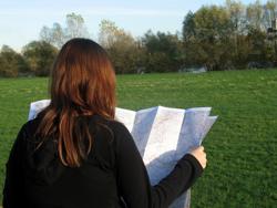 vrouwen en kaartlezen